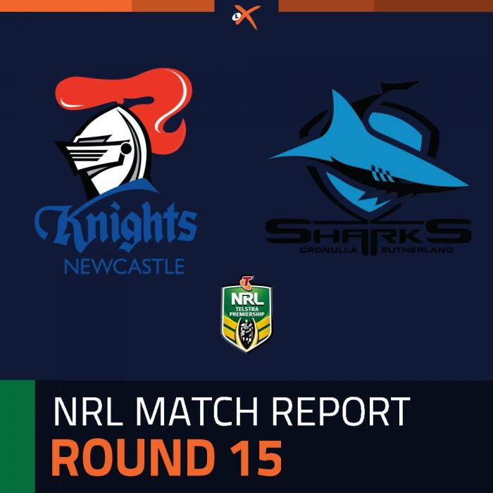 Newcastle Knights v Cronulla-Sutherland Sharks