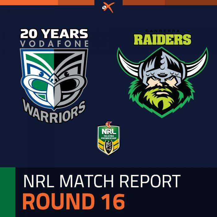 New Zealand Warriors v Canberra Raiders