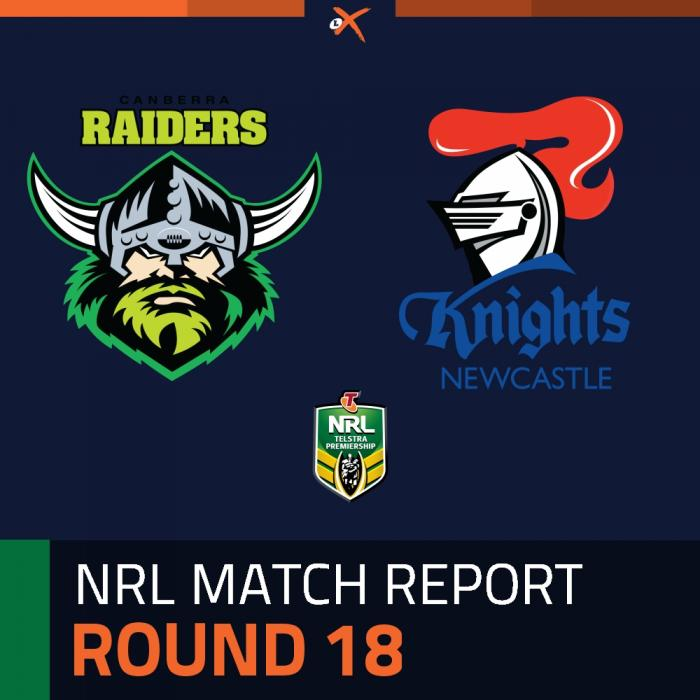 Canberra Raiders v Newcastle Knights