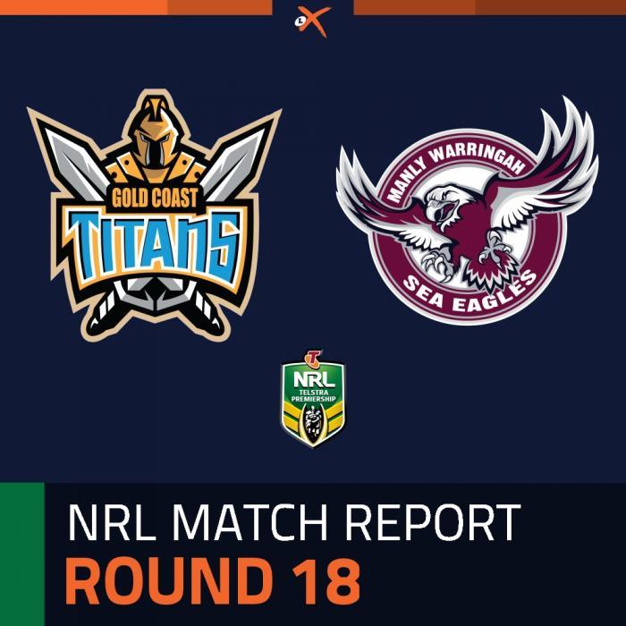 Gold Coast Titans v Manly-Warringah Sea Eagles
