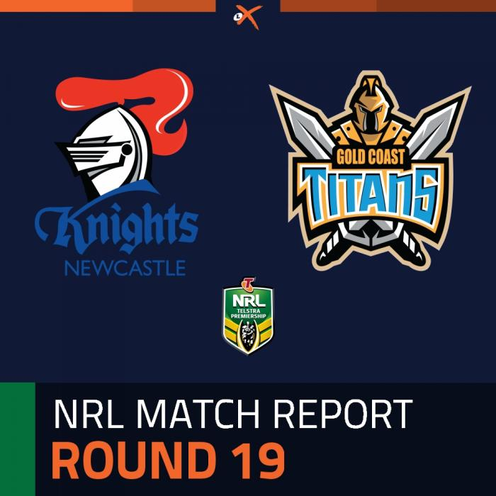 Newcastle Knights v Gold Coast Titans