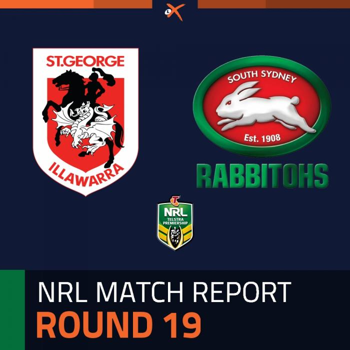 St. George Illawarra Dragons v South Sydney Rabbitohs
