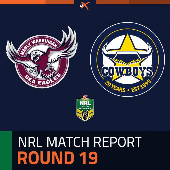 Manly-Warringah Sea Eagles v North Queensland Cowboys