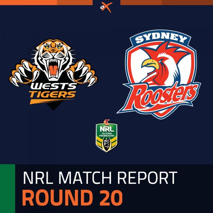 Wests Tigers v Sydney Roosters