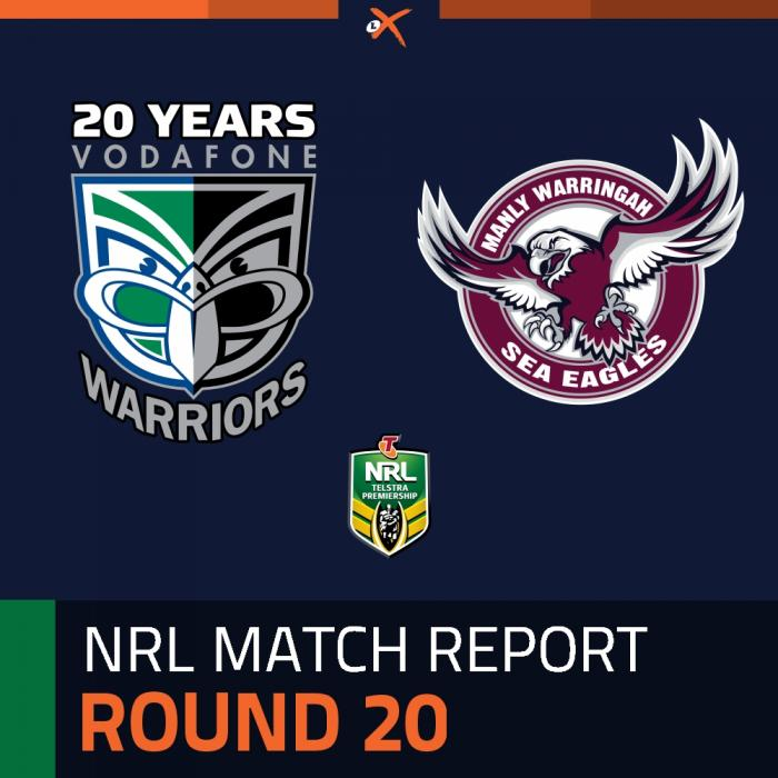 New Zealand Warriors v Manly-Warringah Sea Eagles