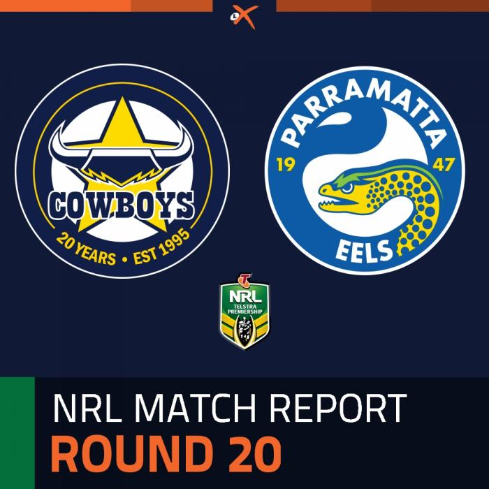 North Queensland Cowboys v Parramatta Eels