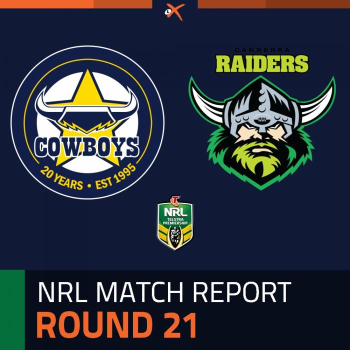 North Queensland Cowboys v Canberra Raiders