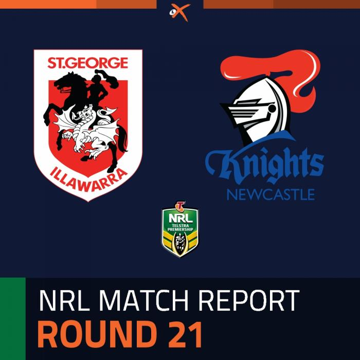 St. George Illawarra Dragons v Newcastle Knights