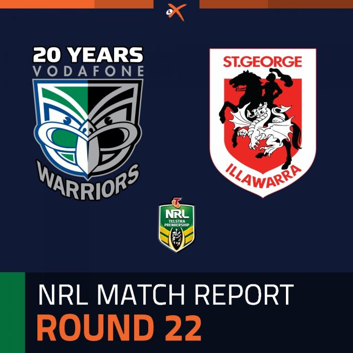 New Zealand Warriors v St. George Illawarra Dragons