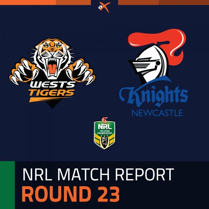 Wests Tigers v Newcastle Knights