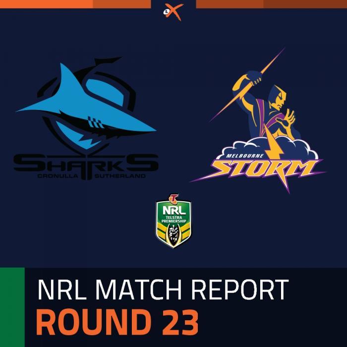 Cronulla-Sutherland Sharks v Melbourne Storm