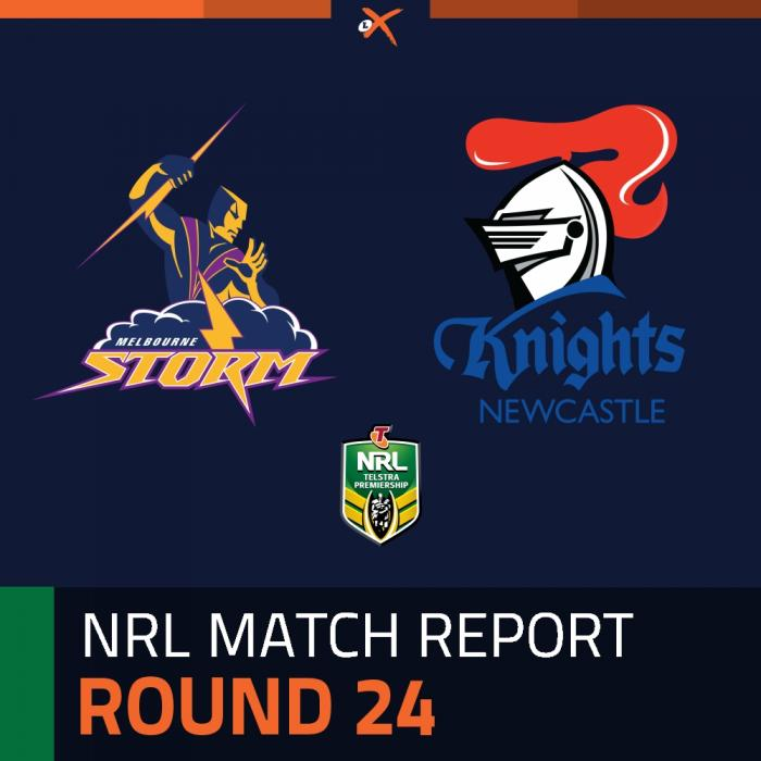 Melbourne Storm v Newcastle Knights