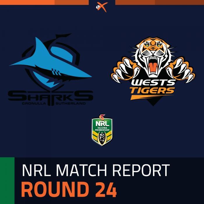 Cronulla-Sutherland Sharks v Wests Tigers