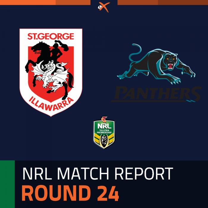 St. George Illawarra Dragons v Penrith Panthers