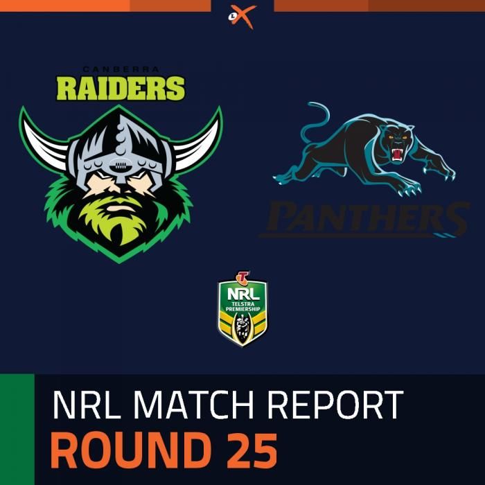 Canberra Raiders v Penrith Panthers