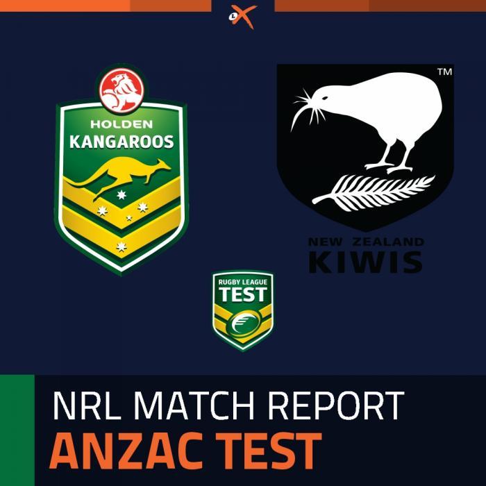 Australia Kangaroos v New Zealand Kiwis