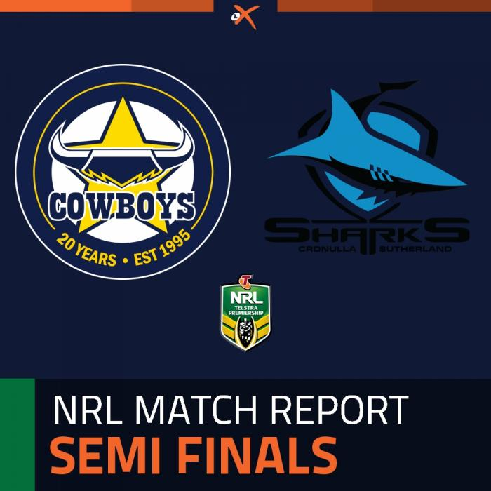 North Queensland Cowboys v Cronulla-Sutherland Sharks