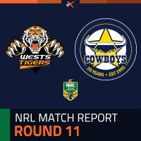 Wests Tigers v North Queensland Cowboys
