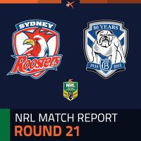 Sydney Roosters v Canterbury-Bankstown Bulldogs