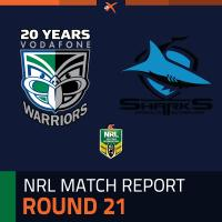 New Zealand Warriors v Cronulla-Sutherland Sharks