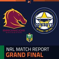 Brisbane Broncos v North Queensland Cowboys