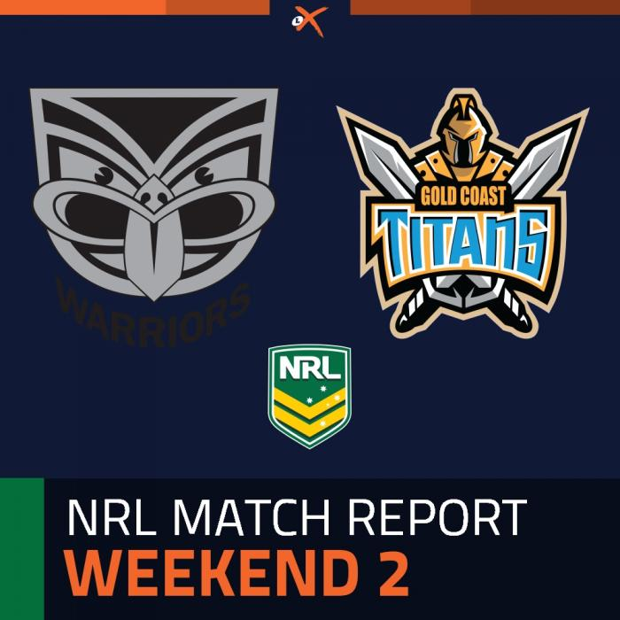 Warriors v Gold Coast Titans