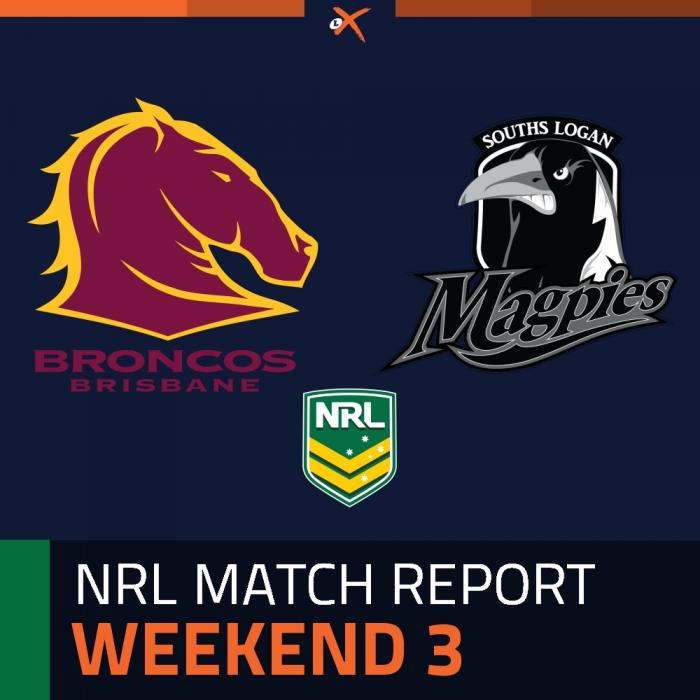 Brisbane Broncos v Souths Logan Magpies