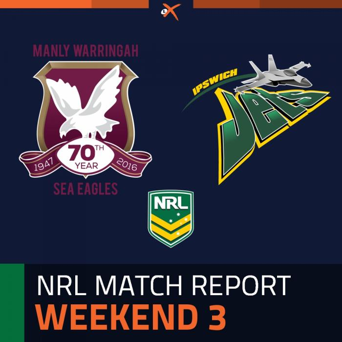 Manly-Warringah Sea Eagles v Ipswich Jets