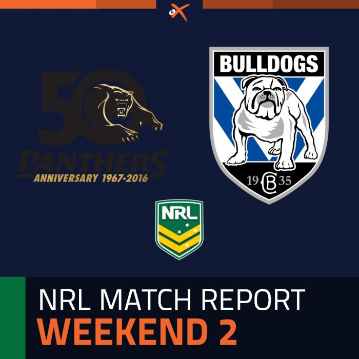 Penrith Panthers v Canterbury-Bankstown Bulldogs