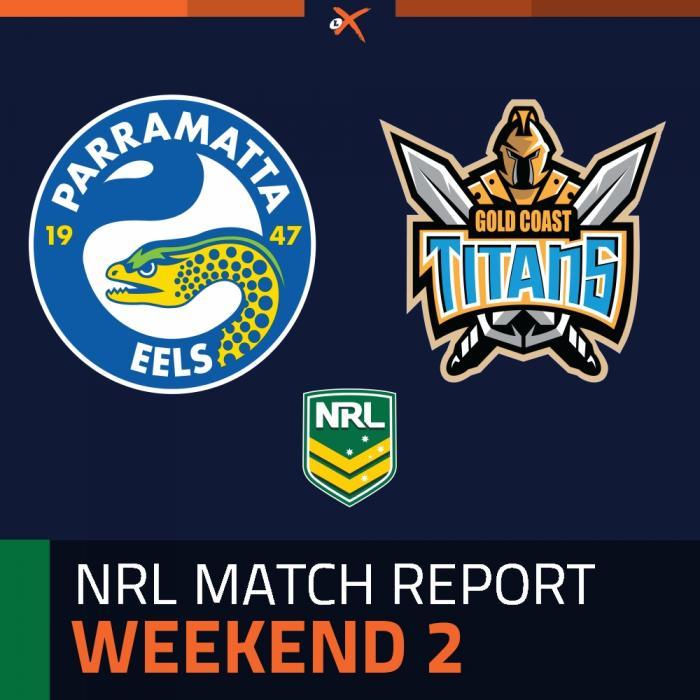 Parramatta Eels v Gold Coast Titans
