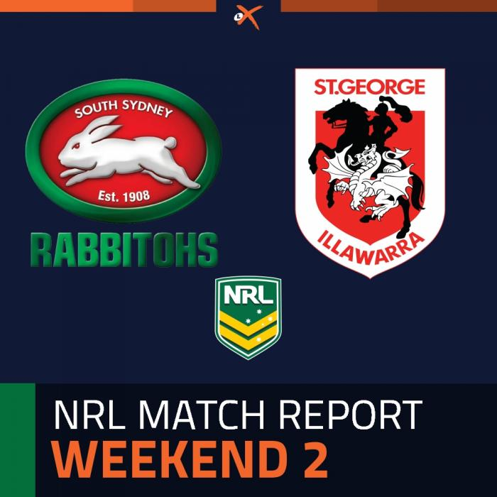 South Sydney Rabbitohs v St. George Illawarra Dragons