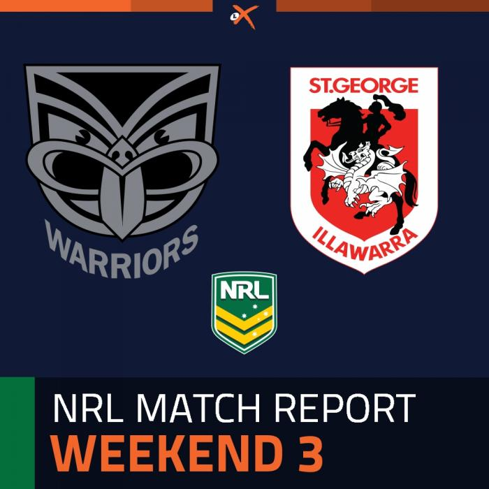 Warriors v St. George Illawarra Dragons