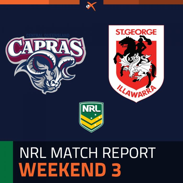 Central Queensland Capras v St. George Illawarra Dragons