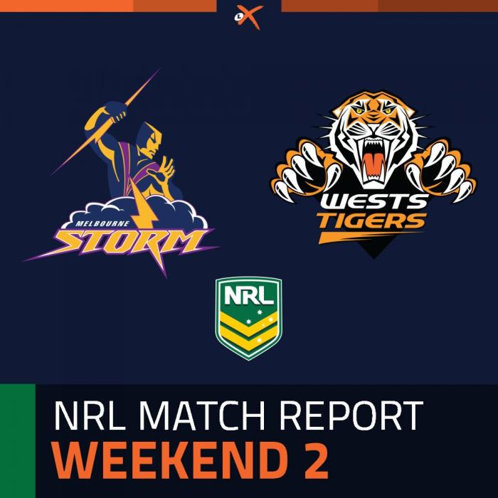 Melbourne Storm v Wests Tigers