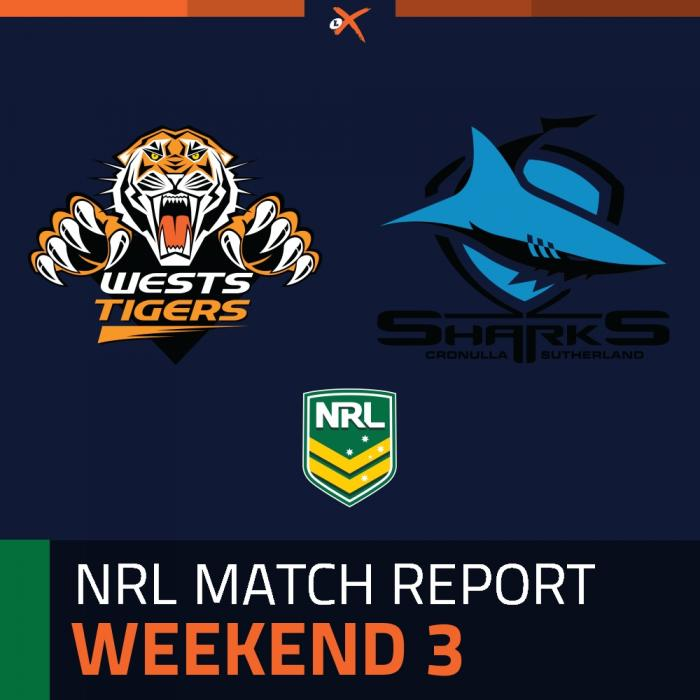 Wests Tigers v Cronulla-Sutherland Sharks