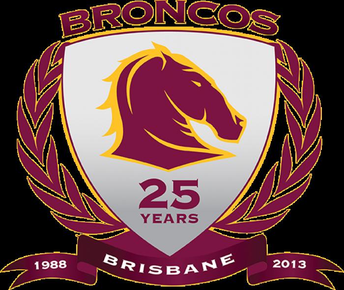 Broncos 25 Years Logo