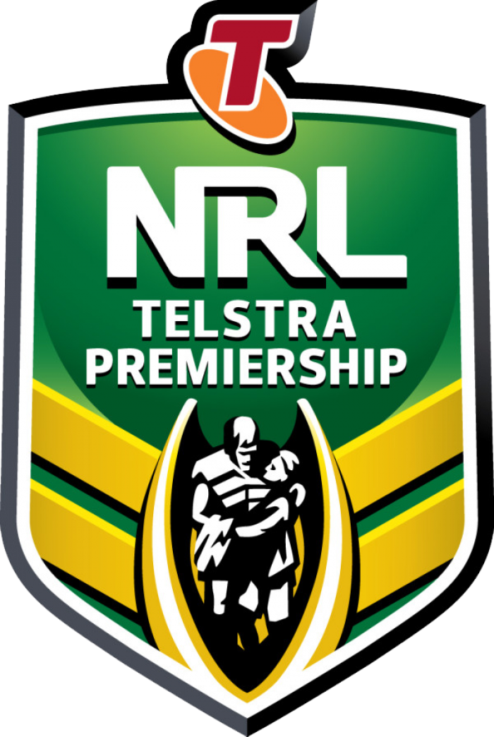 NRL Telstra Premiership Logo
