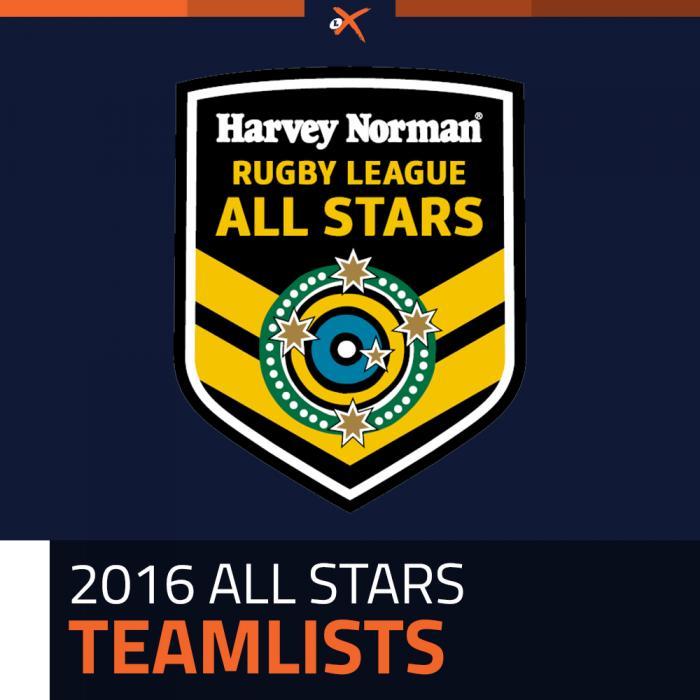 2016AllStarsTeams