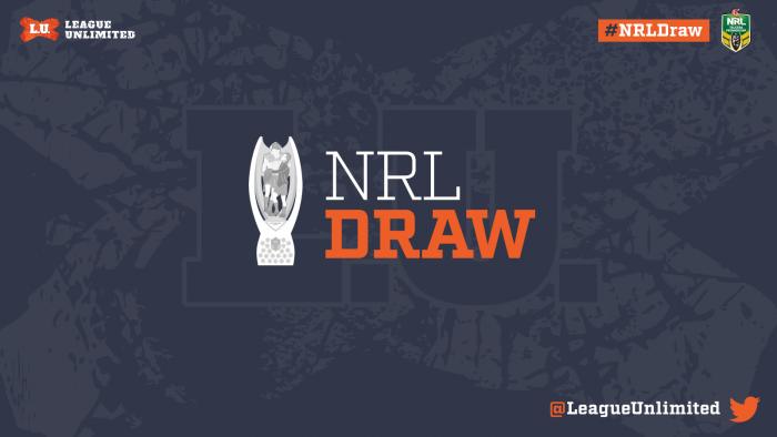 2016NRL Draw