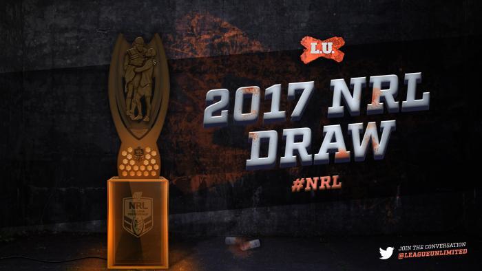 2017NRL Draw