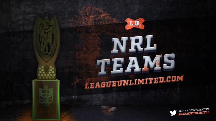 2017NRL Teams