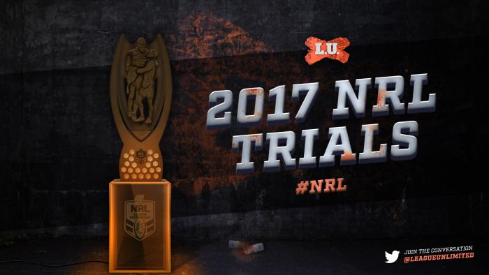 2017NRL Trials