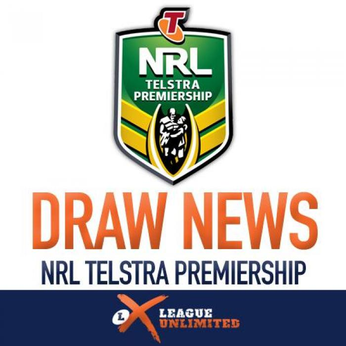 NRL Draw News LU