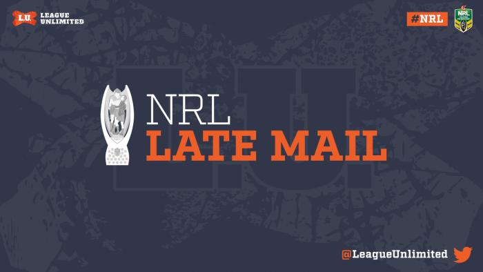 NRL latemailLU118