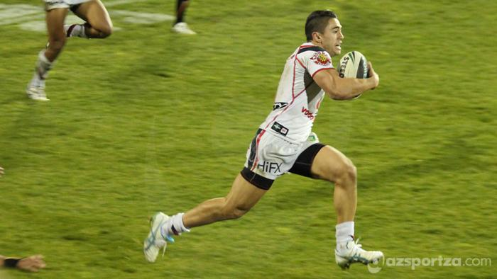 Shaun Johnson Running