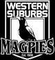 WesternSuburbsMagpies Pos VectorLogo FlatColour2