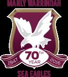 ManlySeaEagles 70Years Vector Logo Pos