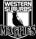WesternSuburbsMagpies Pos VectorLogo FlatColour
