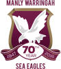 ManlySeaEagles 70Years Vector Logo Pos
