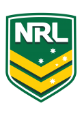NRL NationalRugbyLeague FLAT